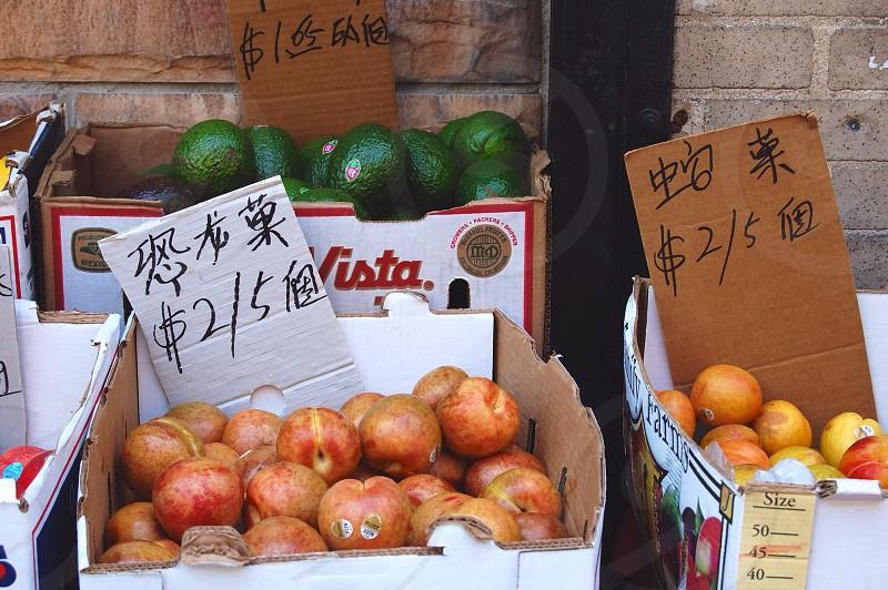 Chinatown Boston Massachusetts photo