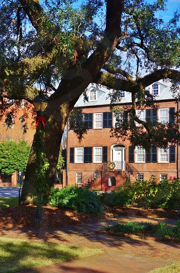 The Isaiah Davenport House in Savannah Georgia photo