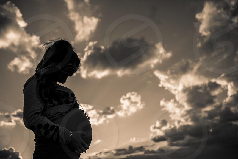 Pregnant women  photo
