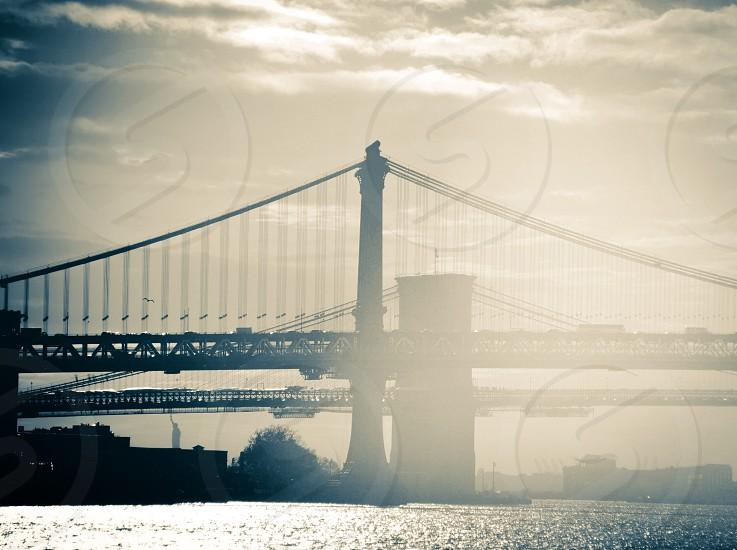 black bridge view photo