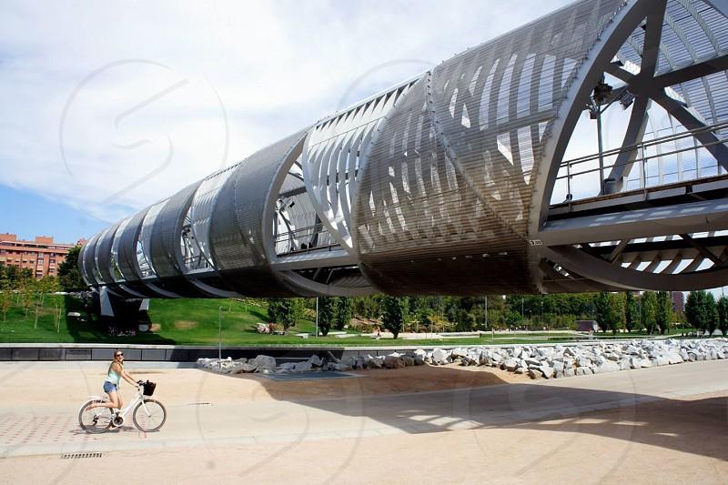 Biking Madrid  photo