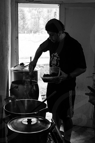 people cooking photo