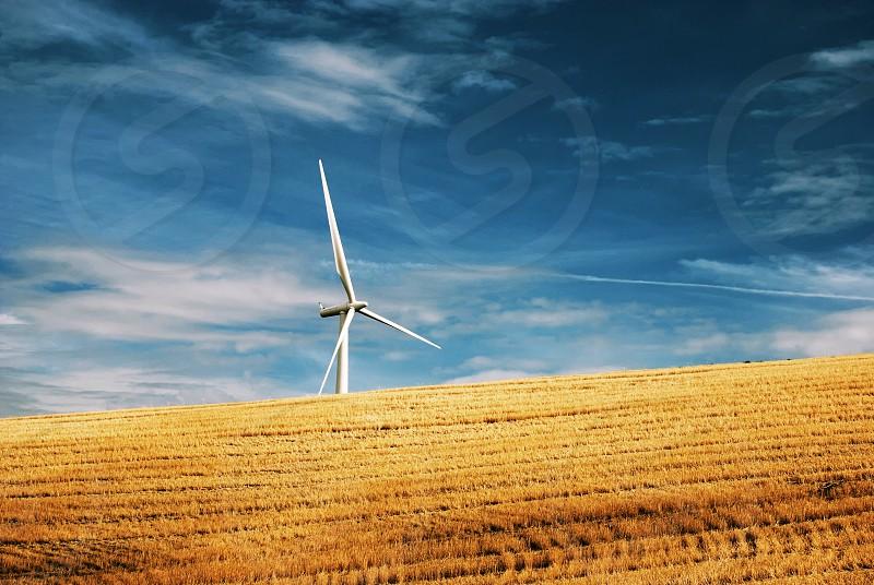 Wind turbine energy green power clean energy sustainable photo