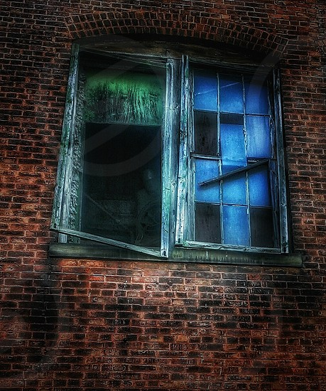 urban brick brick buildings abandoned buildings urban urban photography industrial colorful creepy photo