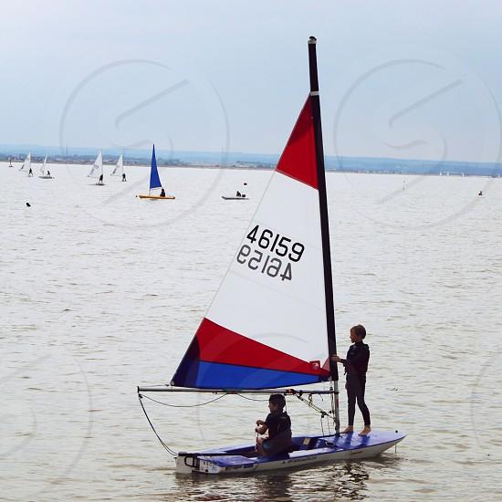 Boys sailing. Litely: Argyle High photo