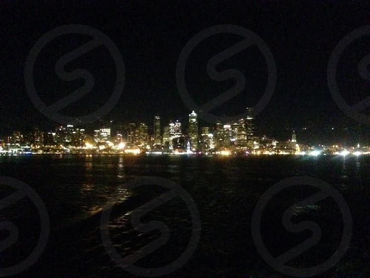 Seattle skyline.  photo