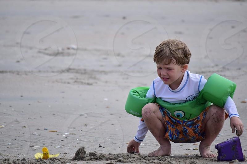 Puddle jumper beach days  photo