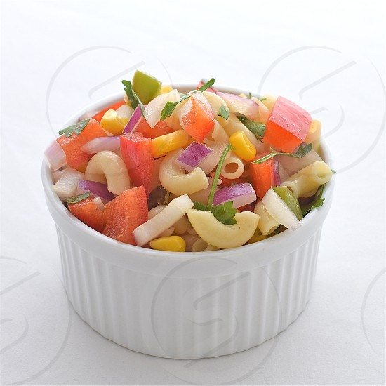 Pasta Salad Salad Food photo