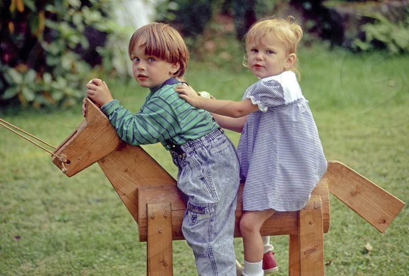 child playing photo