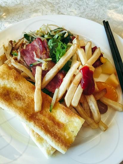 Breakfast in Yakeshi photo