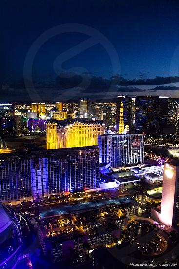 Las Vegas strip photo