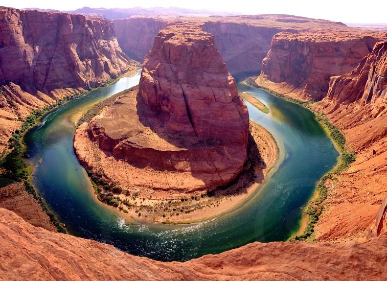 Horseshoe bend AZ photo