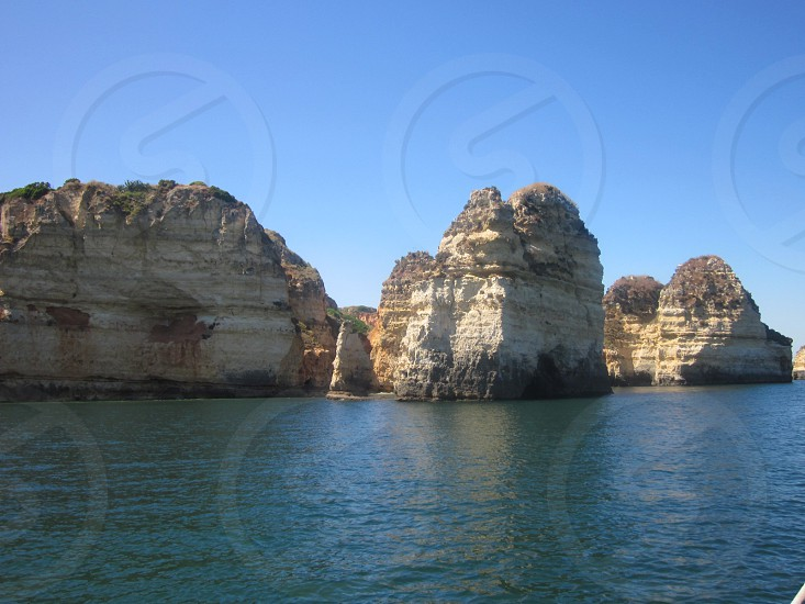 Cliffs.  photo