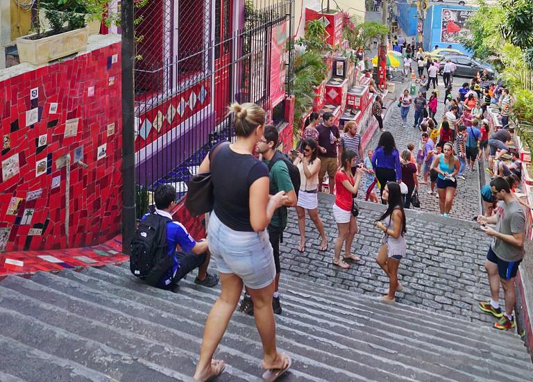 Escadria Selarón - Rio de Janeiro Brazil photo