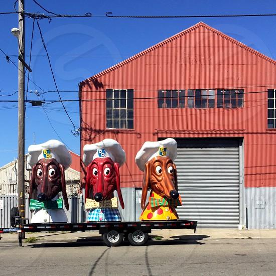 Doggie Diner Heads photo