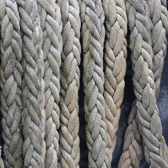 grey rope photo
