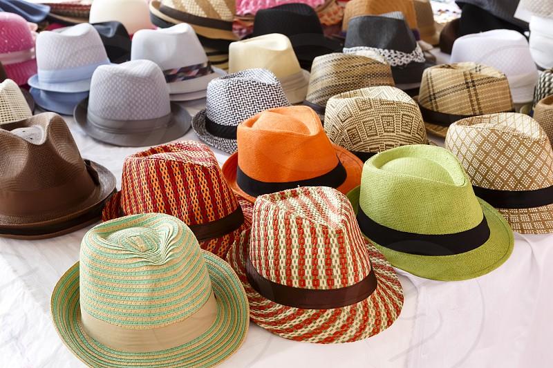 Hats variety fedora photo