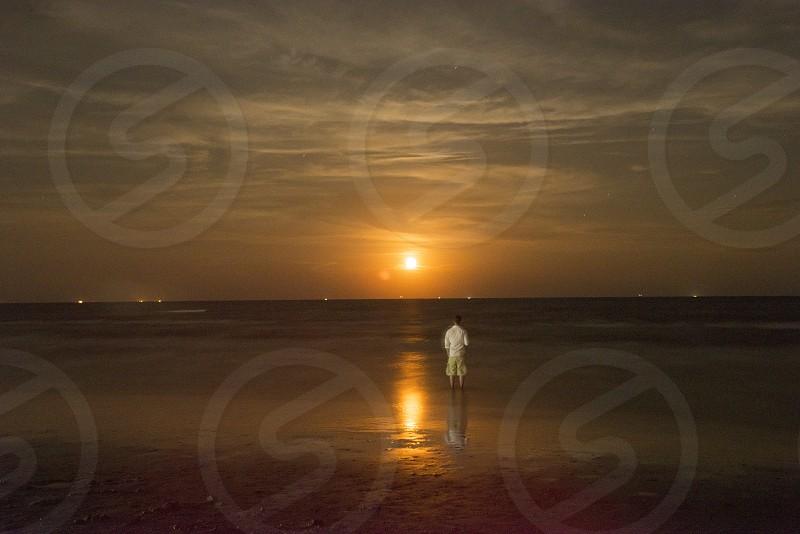 Moonlit photo