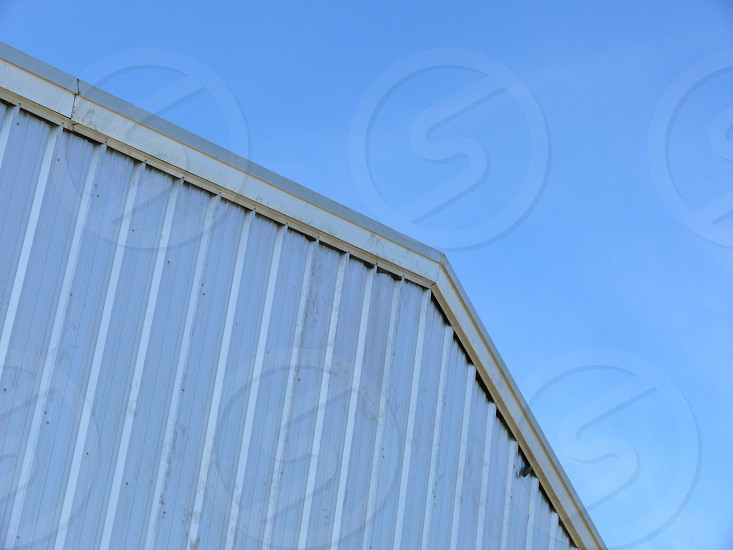 lines sky barn aluminum photo
