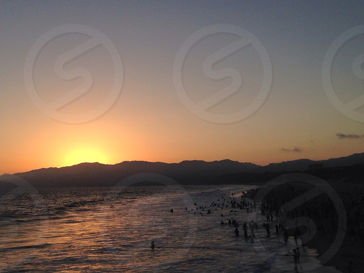 Santa Monica view.  photo