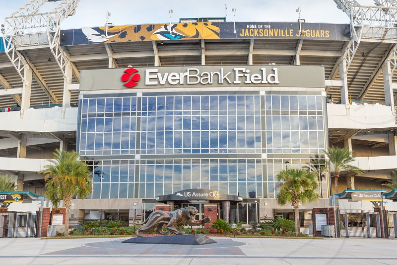 Everbank football field home of the Jacksonville Jaguars in Jacksonville Florida photo