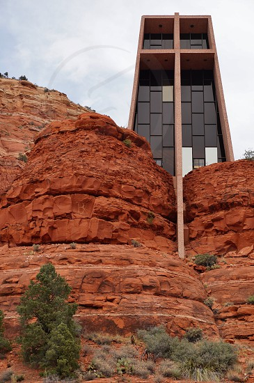 Chapel of the Holy Cross in Sedona Arizona            photo