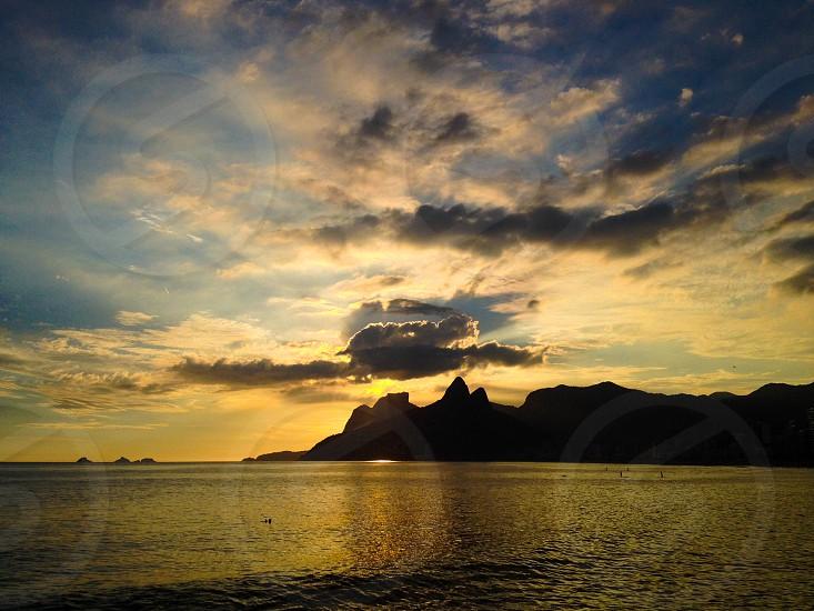 A beautiful Sunset.  photo