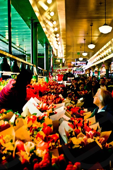 Pike Place Market Flowers photo