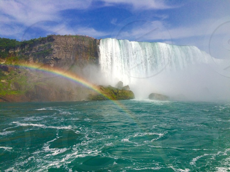 Niagara Watefalls. America. Canada. Nature.  photo