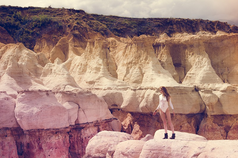 Hidden in a Wasteland | Paint Mines in Colorado photo