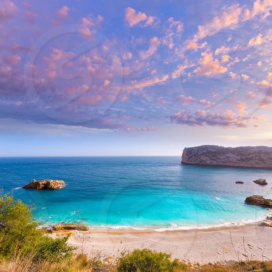 Javea Playa Ambolo beach Xabia in Mediterranean Alicante Spain photo