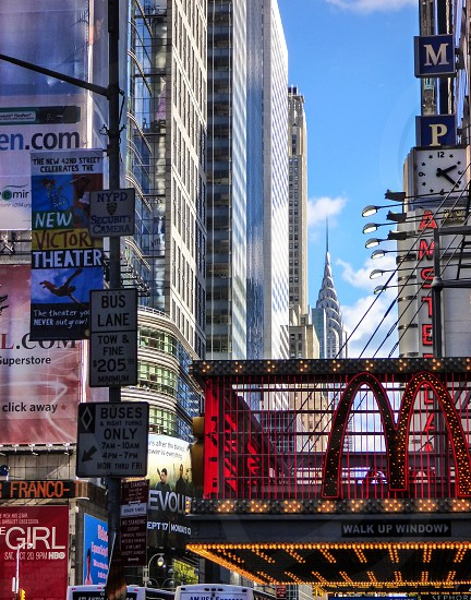 42nd Square Theater District Times Square New York City  photo