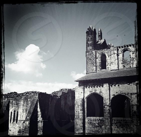 Castle ruins uk England  photo