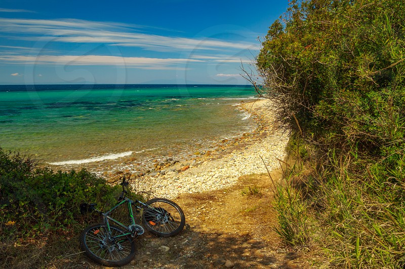 The rocky coast  wi ... ] photo