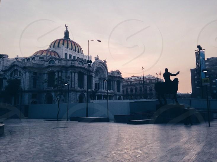 Palace of the Fine Arts Mexico City photo
