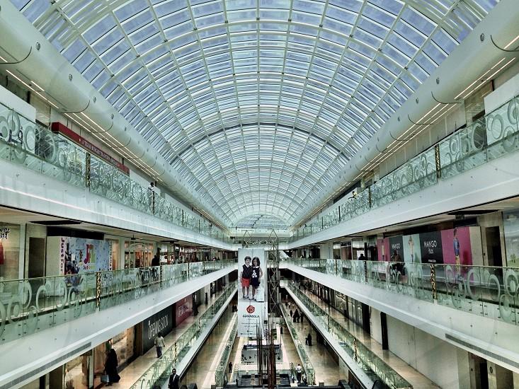 Leading Line LisAm Ceiling Light Glass Building Design Mall  photo