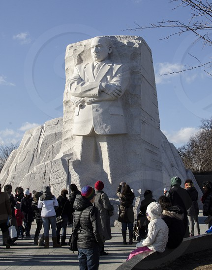 Martin Luther King Memorial holiday celebration . photo