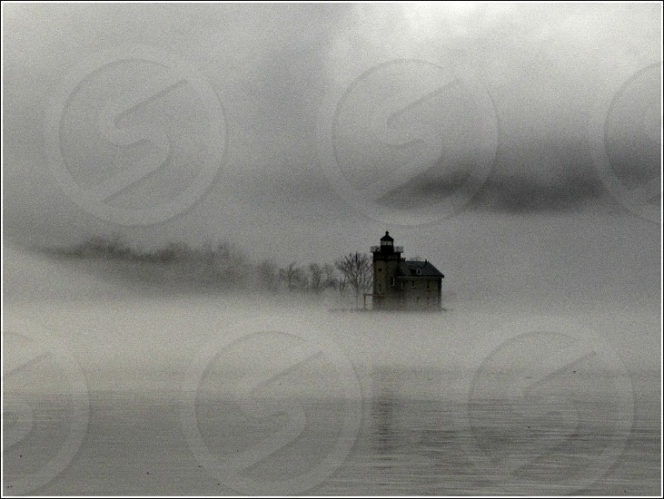 Fog on the River  photo