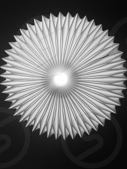photo of gray scalloped edge 3D diagram photo