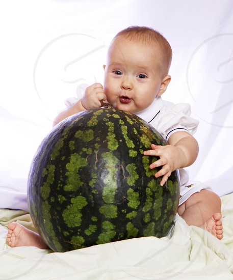 Give thanks watermelon  gift present happiness  photo