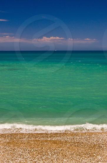 green sea photo