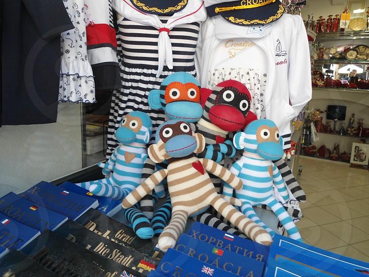 Souvenirs in Dubrovnik Croatia photo