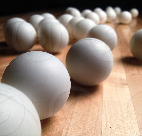 white balls photo