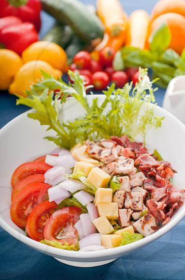 fresh classic caesar salad healthy meal MORE DELICIOUS FOOD ON PORTFOLIO photo