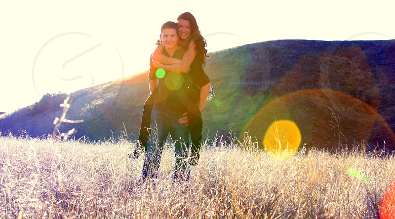 couple sunlight photo