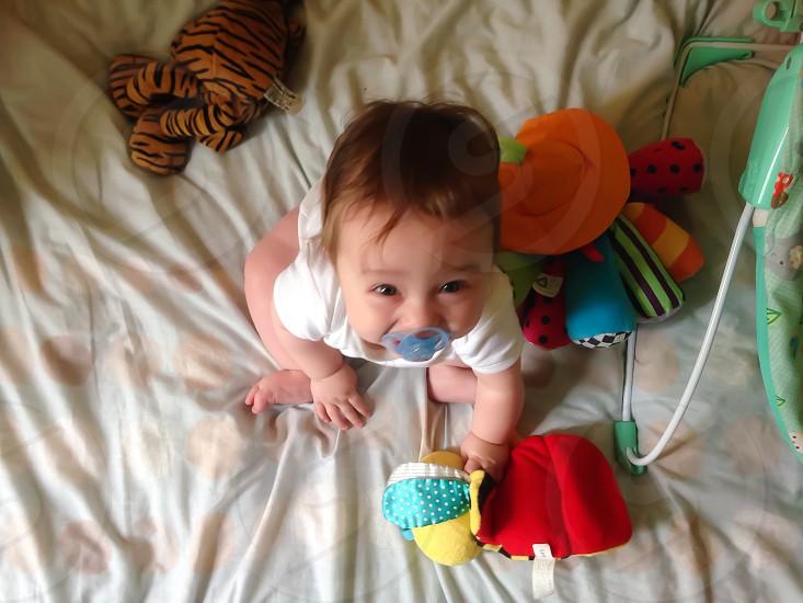 My Boy Playing photo