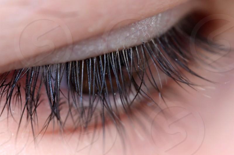 eye eyelashes long look brown beauty beautiful girl window photo