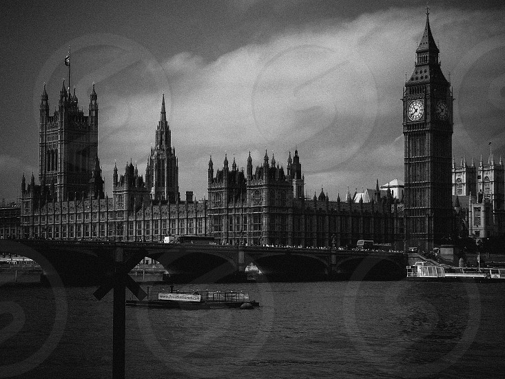 London Film Noire Style photo