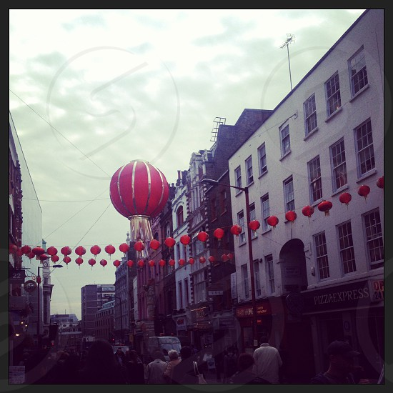 London street view China town photo