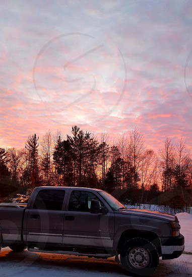 Sunset with the DuraMax photo